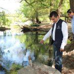 Se verificó el estado del agua a lo largo y ancho del Lago, a fin de constatar su olor y sabor y, tomar las medidas conducentes para evitar la contaminación del paraje natural y del Río Duero