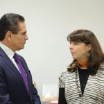En el marco del 40 aniversario del Colegio de Michoacán, el Gobernador y la directora de CONACYT dialogaron sobre las necesidades para el desarrollo de la ciencia, tecnología e innovación