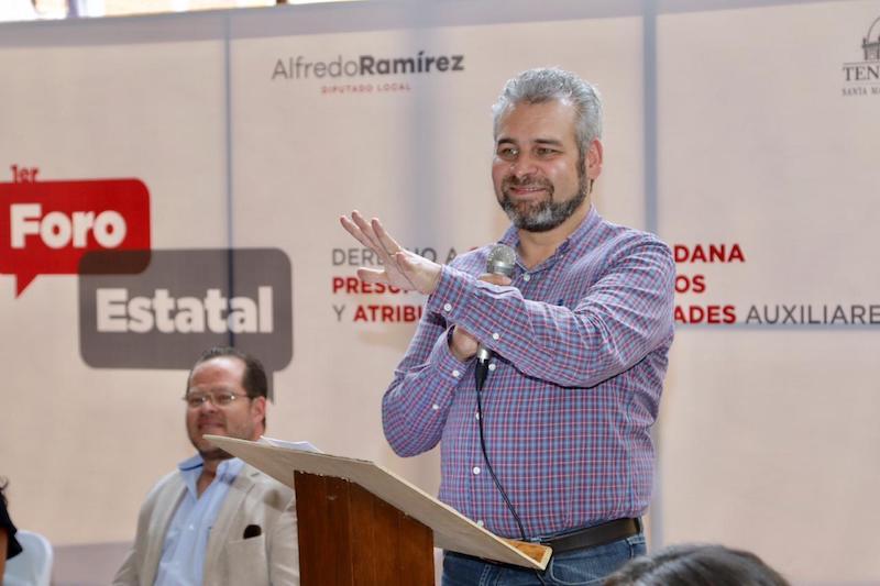 Alfredo Ramírez y autoridades auxiliares emiten la Declaración de Santa María, en la que promueven el reconocimiento de comunidades indígenas, y demandan participar en sesiones de Cabildo