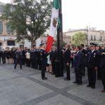 El alcalde Raúl Morón encabezó el izamiento de Bandera Nacional en plaza Melchor Ocampo por el LXXXI Aniversario de la Expropiación Petrolera