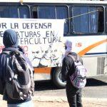 Desde el jueves ya se reportaba más de una decena de vehículos repartidores y oficiales secuestrados
