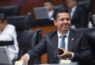 Presenta García Conejo punto de acuerdo desde la tribuna del Senado de la República