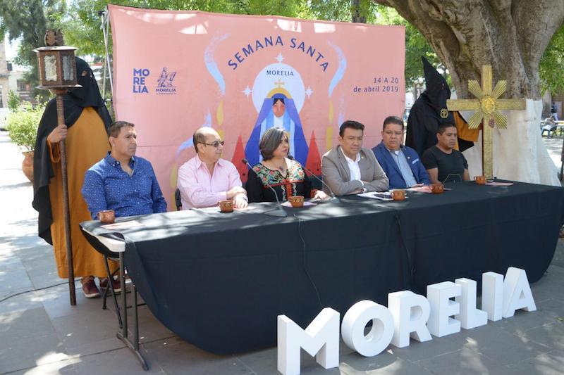 Capula presentará la Expo Artesanal de la Cruz de Barro del 14 al 21 de abril; Policía Turística de Morelia iniciará labores el 15 de abril