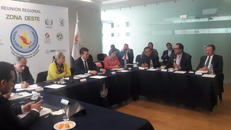 Lo anterior durante la reunión regional de la Federación Mexicana de Organismo Públicos de Derechos Humanos (FMOPDH) celebrada este martes en León, Guanajuato