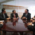 Se reúne titular de Comunicaciones y Obras Públicas del Estado con Cedric Iván Escalante, subsecretario de SCT