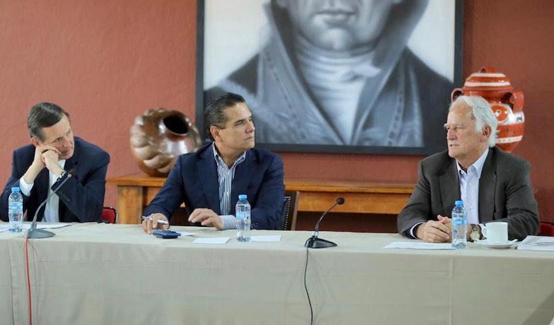 Aureoles Conejo explicó a los empresarios norteamericanos que su gobierno ya prepara el lanzamiento de un programa de reactivación económica, que hará frente a la escasez de recursos provenientes de la Federación