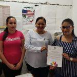 Silvia Estrada presentó a Diana Laura Salas, quien tiene amplia trayectoria en el servicio y atención a la ciudadanía