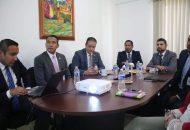 En la reunión de trabajo, el diputado local por el Distrito de Huetamo externó al funcionario estatal, los planteamientos de la población de su región