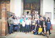 El director de Archivos del Poder Ejecutivo, Ulises Romero Hernández, encabezó estos trabajos en compañía del presidente de esta asociación, Arturo Villaseñor Gómez