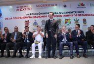 Salas Valencia se congratuló de la gran participación de funcionarios federales, estatales y municipales