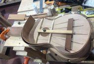 En el recorrido por los talleres, la titular del IAM, escuchó las inquietudes de los artesanos y constató el avance que han desarrollado, así como el resultado de éstos