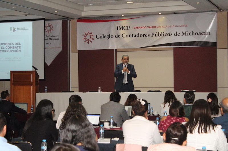 Participa Secoem en ciclo de conferencias del Colegio de Contadores Públicos