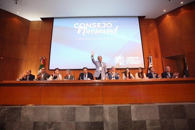 Frente a la nueva realidad del país, Marko Cortés convocó al panismo nacional a proponer alternativas de solución