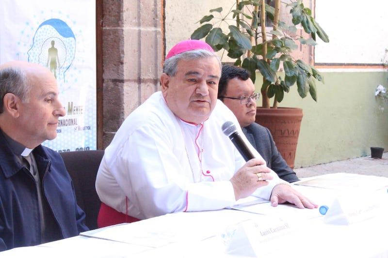 """En otro tema, Garfias Merlos anunció el segundo congreso conmemorativo: """"Filosofía de la Mente"""", en el marco del 250 aniversario de la Fundación del Seminario Diocesano de Morelia"""