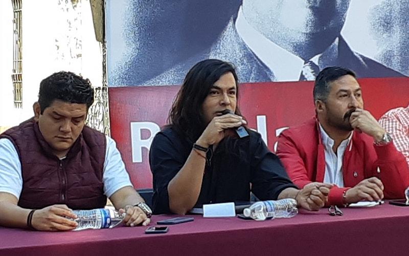 Pimentel Mendoza indicó que la tarea de los partidos políticos como el Morena es buscar las alianzas y los acuerdos para construir el proyecto de nación de López Obrador