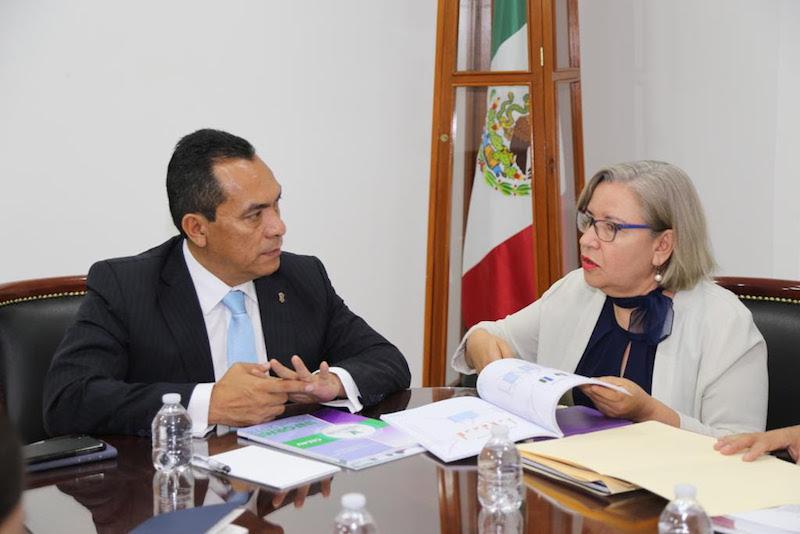 Cristina Cortés celebró la coordinación que se ha logrado concretar para dar atención en temas específicos, como lo es las Caravana para la Búsqueda de Personas Desaparecidas