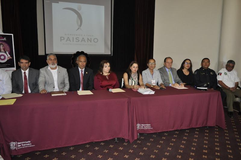 En conferencia de prensa, representantes de algunas de las instituciones que participarán en el operativo, presentaron las acciones a seguir