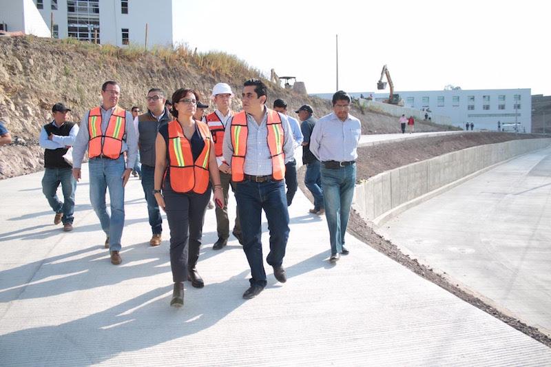 La inversión total es de 73 millones de pesos; de los cuales, 23 fueron aportados por la SSM para la construcción de tres estacionamientos