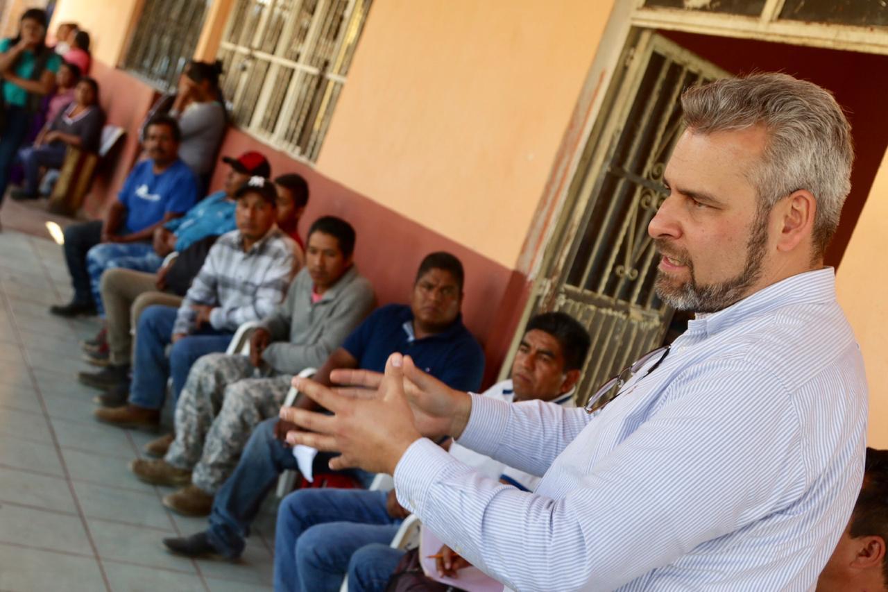 Ramírez Bedolla afirmó que las necesidades particulares de las comunidades serán escuchadas en la consulta ciudadana que se realizará en julio