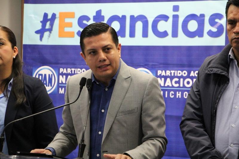 El CDE del PAN en Michoacán continúa trabajando con todos sus militantes
