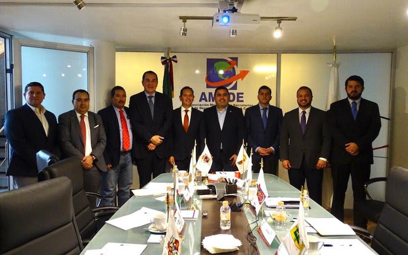 En la sesión de trabajo de la AMSDE, los secretarios analizaron tanto el esquema de implementación, como el estatus de cada una de las Zonas Económicas Especiales del país
