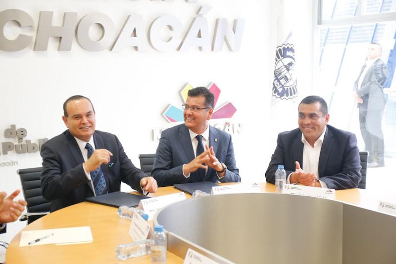 Godoy Castro, destacó que se trabajara día a día para lograr la paz en todo Michoacán y posicionar a la entidad, así como el mejor estado en todo el país en temas de seguridad pública