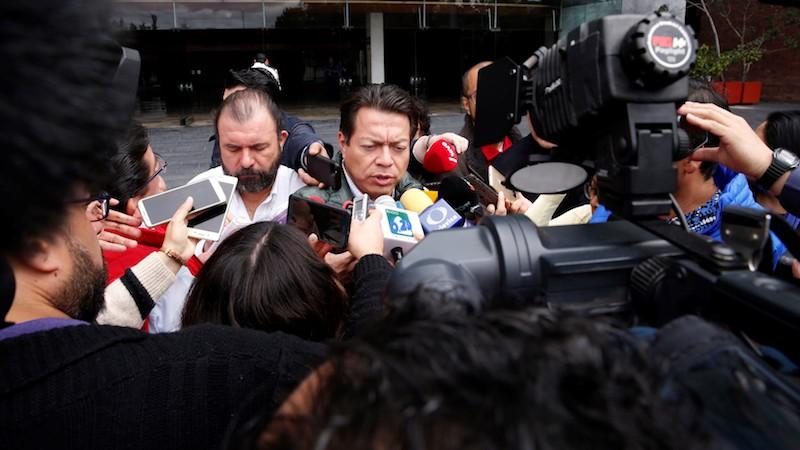 Delgado Carrillo explicó que el magisterio prometió no bloquear nuevamente esta semana la Cámara de Diputados para que esta semana pueda tener su función regular