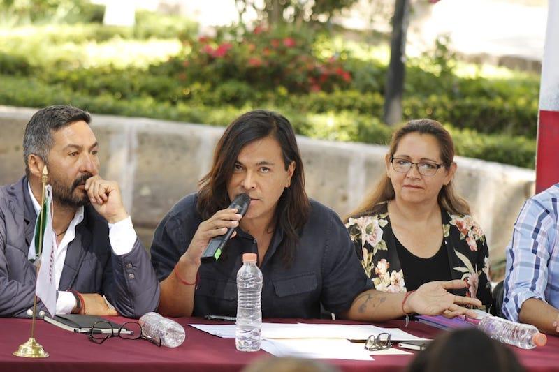 """""""Yeyo"""" recordó que hace unos meses el Gobernador de Michoacán, Silvano Aureoles, puso el dedo en la llaga al exigir al gobierno federal hacerse cargo del pago de la nómina magisterial porque ya no podía"""