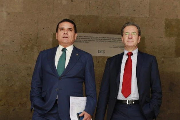 Por un nuevo acuerdo educativo, Aureoles y Moctezuma sostienen reunión de trabajo