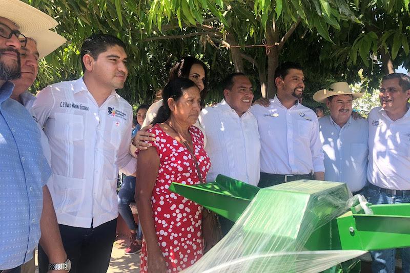 Color Gasca subrayó que estos proyectos se incentivan en comunidades de alta y muy alta marginación