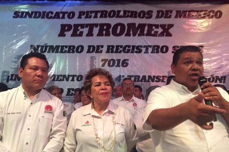 Una de las principales premisas del nuevo sindicato disidente es acabar con el reinado de Carlos Romero Deschamps, a quien han denunciado formalmente por presuntos actos de corrupción.