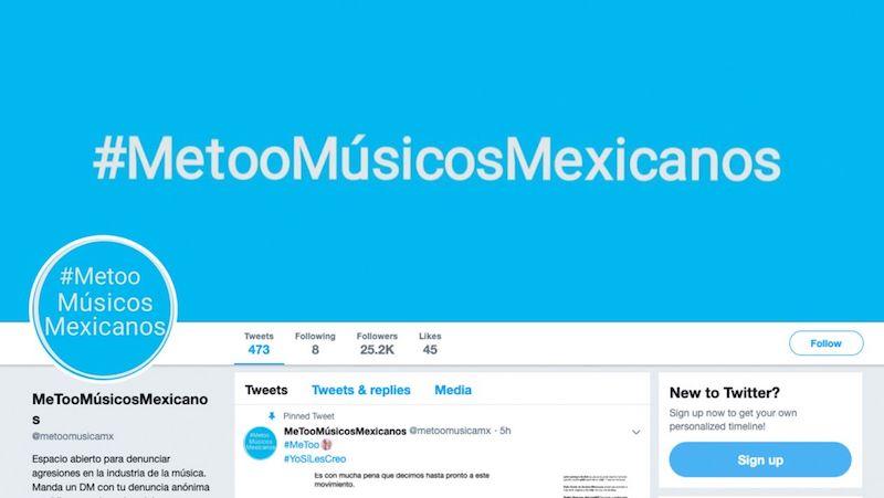 Mediante un comunicado, el movimiento lamentó la muerte de Vega Gil, luego de las acusaciones anónimas de abuso sexual contra el fundador de la banda mexicana, las cuales fueron dadas a conocer a través de esa cuenta, provocando un linchamiento contra el artista
