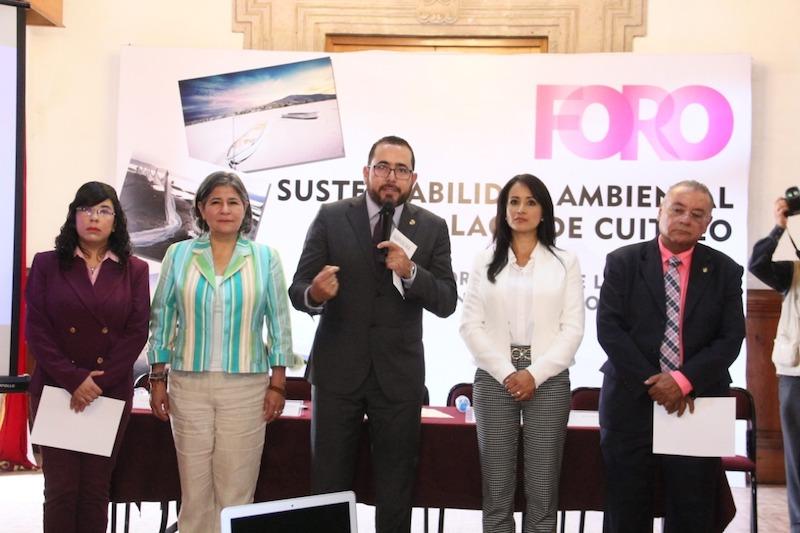 El diputado organizador del evento, Humberto González llamó a cerrar filas para lograr su protección y preservación, y caminar juntos con las autoridades de los tres órdenes de gobierno, la academia, y sociedad