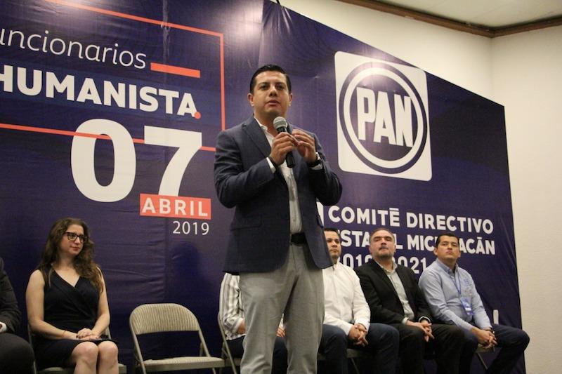 Con los ejemplos de los gobiernos municipales del PAN, cambiaremos la historia de Michoacán: Óscar Escobar Ledesma