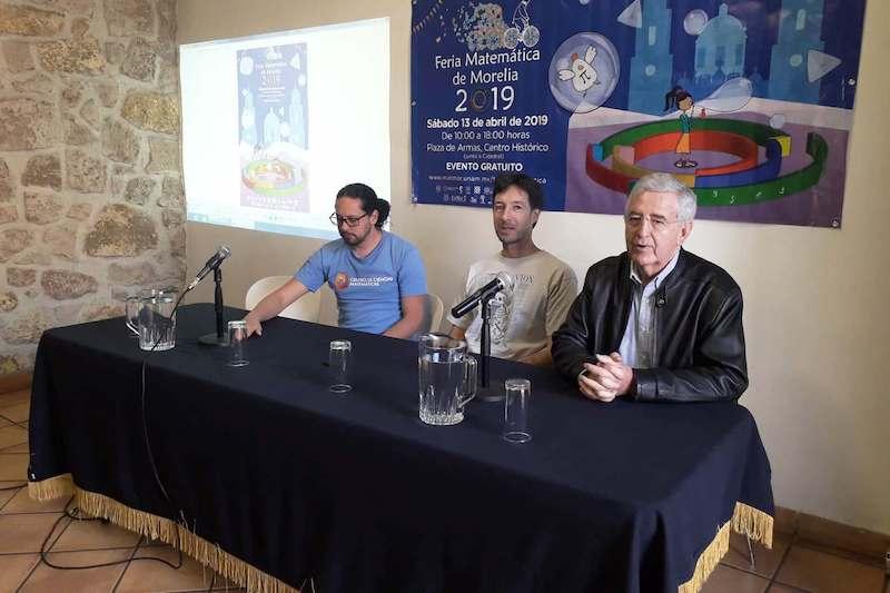 En su séptima edición, la Feria Matemática de Morelia contará con 17 entretenidos talleres, coordinados por estudiantes, investigadores y docentes de la UNAM, la UMSNH y distintos centros e institutos de investigación estatales y nacionales