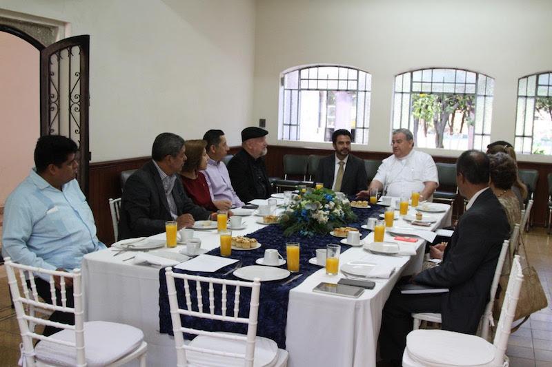 """""""Vamos a seguir reforzando el trabajo previo que hemos venido realizando con las distintas Secretarías de Estado para generar paz y confianza entre las y los ciudadanos"""", expresó Armando Hurtado"""