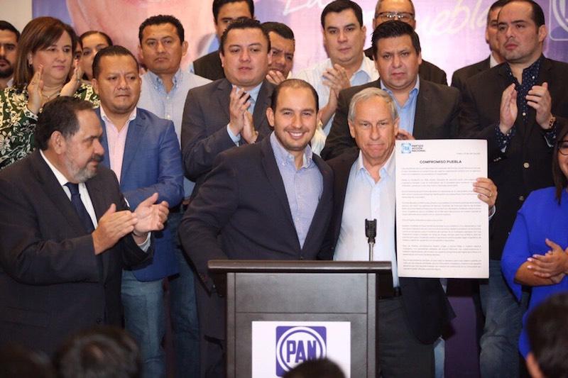Nos comprometemos a trabajar intensamente para llevar a Enrique Cárdenas a la gubernatura de Puebla: Marko Cortés