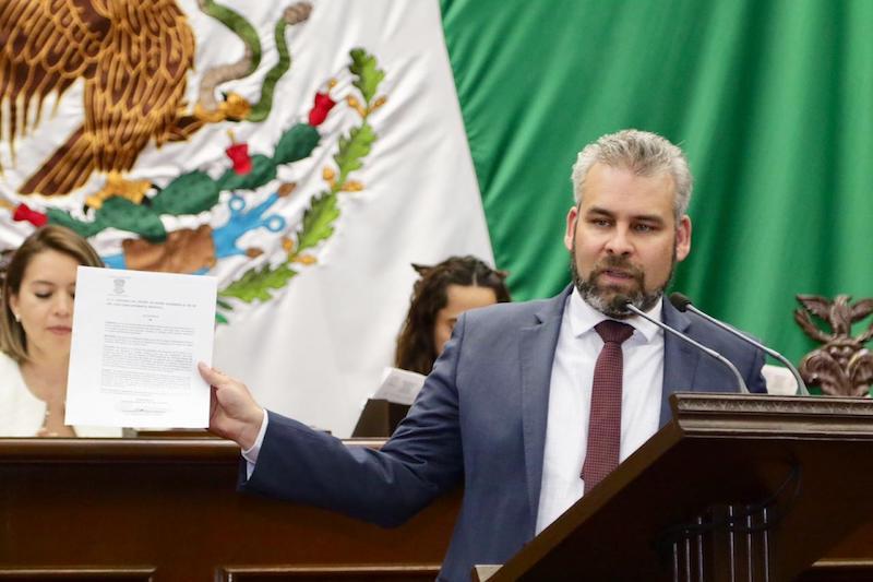 Ramírez Bedolla pretende someter sus iniciativas de reforma al consenso de los michoacanos
