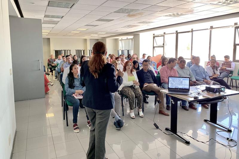 En el evento, Juan Carlos Barragán Vélez, titular de la Sedesoh, estableció que, mediante dicha capacitación, el personal contará con más y mejores herramientas para realizar su trabajo