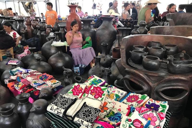 Los artesanos ofertarán sus productos del 12 al 28 de abril, en las plazas Mártires de Uruapan y Morelos, así como en la Huatápera