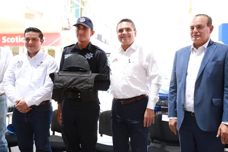 Reconoce iniciativa del Ayuntamiento de Sahuayo de invertir en seguridad pública para sus ciudadanos
