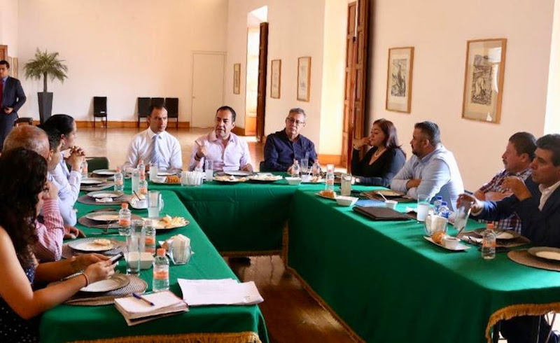 En la reunión, participaron los responsables de las jefaturas regionales