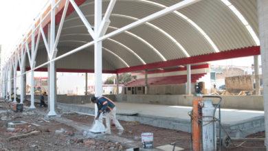 Con una inversión de 40 millones 058 mil pesos, la SCOP construye la nueva alberca a lo largo de 50 metros