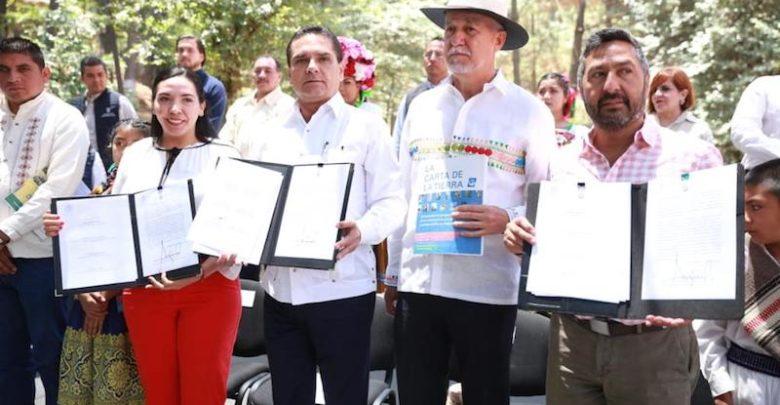 Será Michoacán un referente nacional en la defensa del medio ambiente, asegura Aureoles Conejo