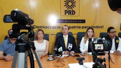 El dirigente estatal del PRD comentó que la Ley Orgánica Municipal establece que la designación del nuevo alcalde se tiene que hacer en un plazo de 30 días