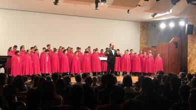 Con sala llena, Niños Cantores de Morelia cautivan el Palacio de Bellas Artes