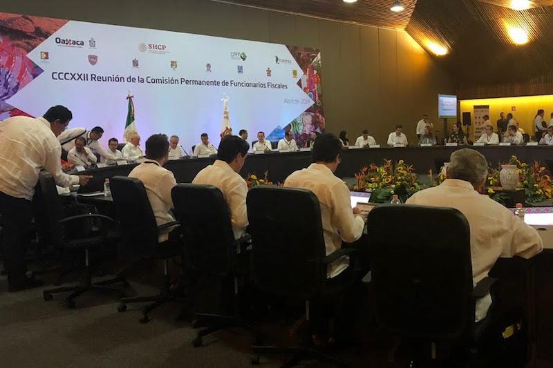 Dieron inicio las mesas de trabajo y análisis en temas financieros, con la presencia de los secretarios de Finanzas de todas las entidades federativas del país, así como de funcionarios de la SHCP