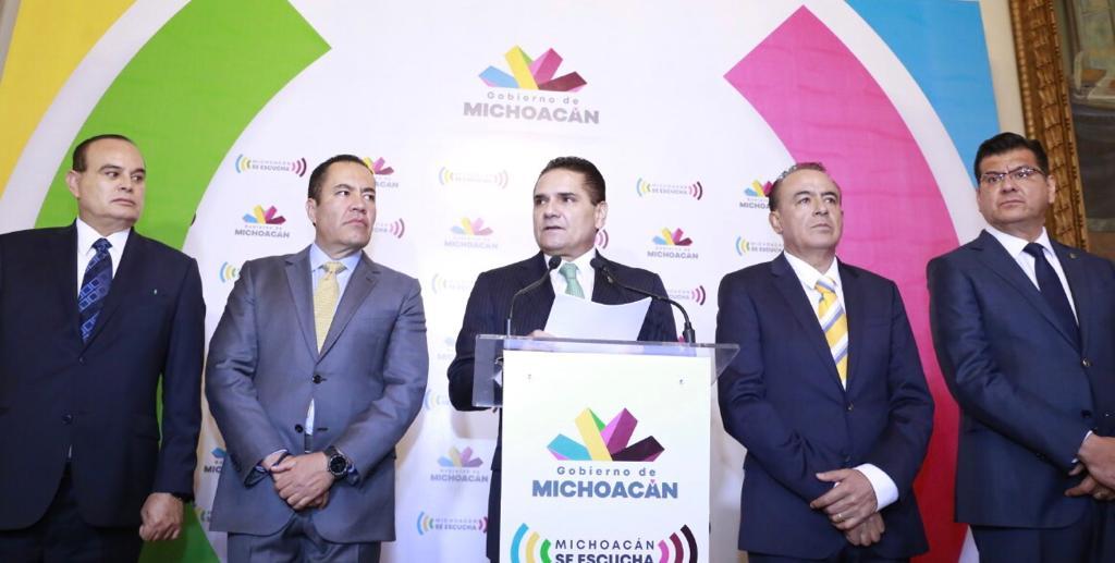 Fortalece Silvano Aureoles al Gobierno de Michoacán; nombra nuevos titulares en Segob y SSP