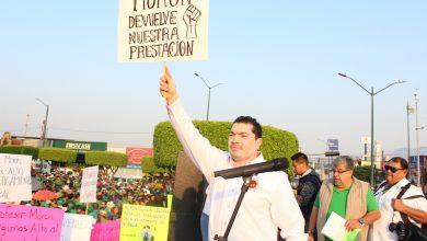 Santamaría Reyes hizo un llamado al presidente municipal, Raúl Morón Orozco, a hacer conciencia y trabajar juntos