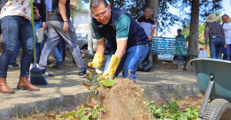 El titular de la dependencia, Juan Carlos Barragán, dirigió las acciones de recuperación en la colonia Rector Ortíz Rubio